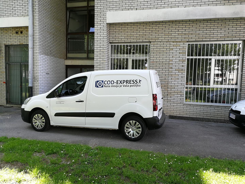 Cod express - oslikavanje vozila