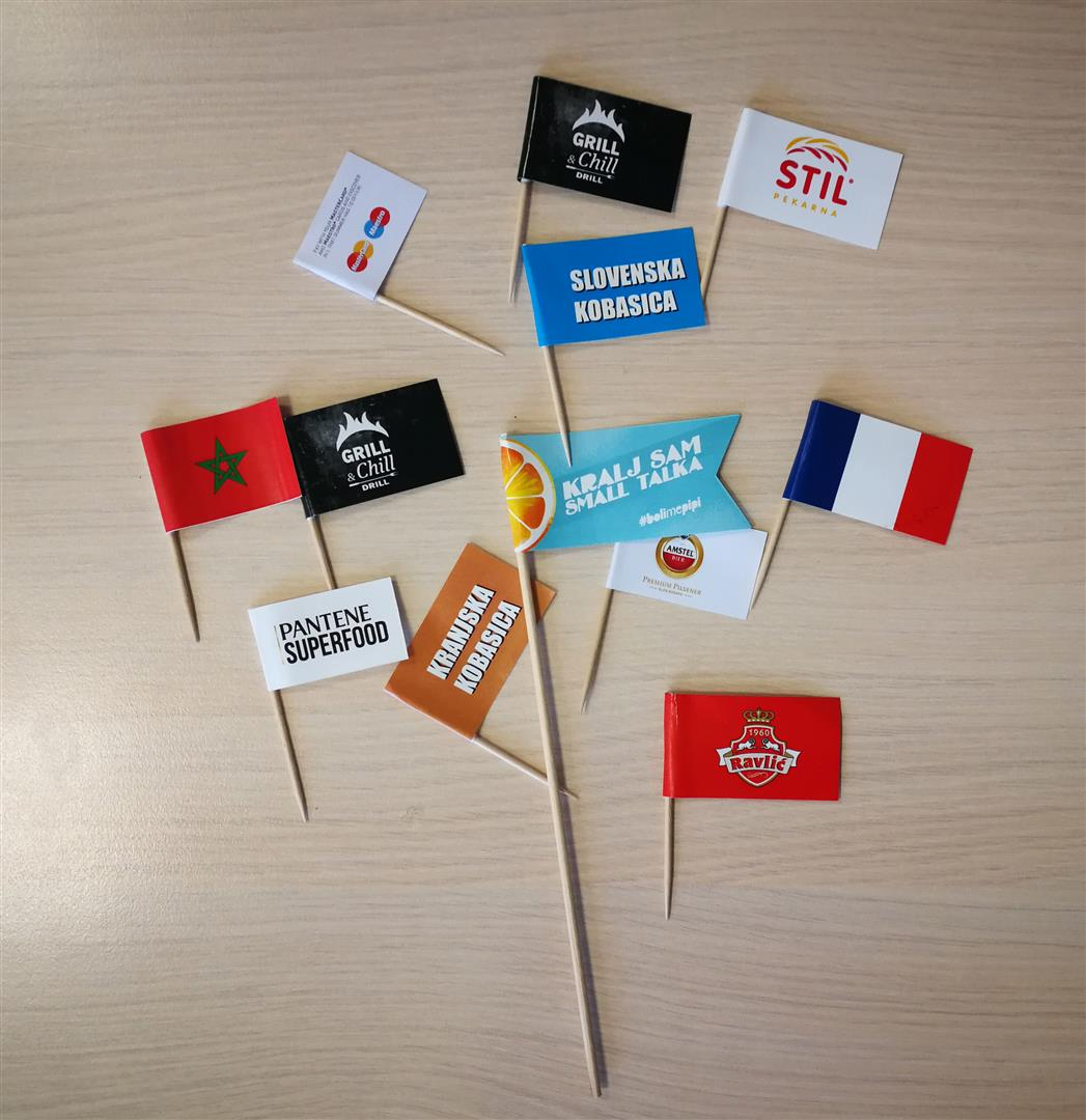 Zastavica-čačkalica
