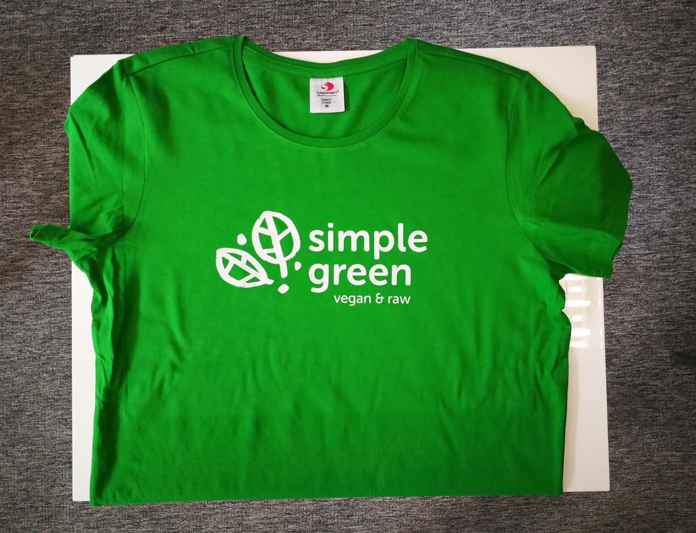 Majica zelena Simple green