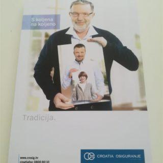 Blok za pisanje - croatia osiguranje - naslovna