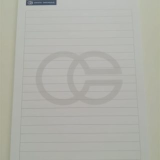 Blok za pisanje - croatia osiguranje - ravne crte