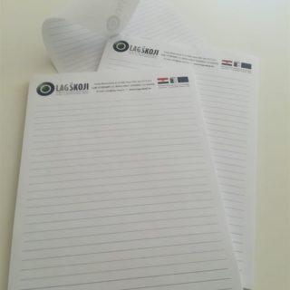 Blok za pisanje - lagškoj - ljepljeni