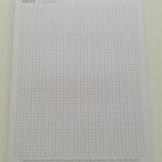 Blok za pisanje - ppi - matematički