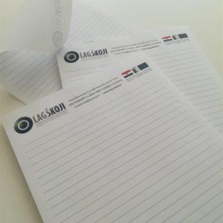 Blok za pisanje - rave crte