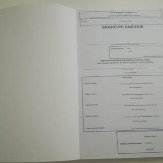 NCR radni nalog - građevni dnevnik