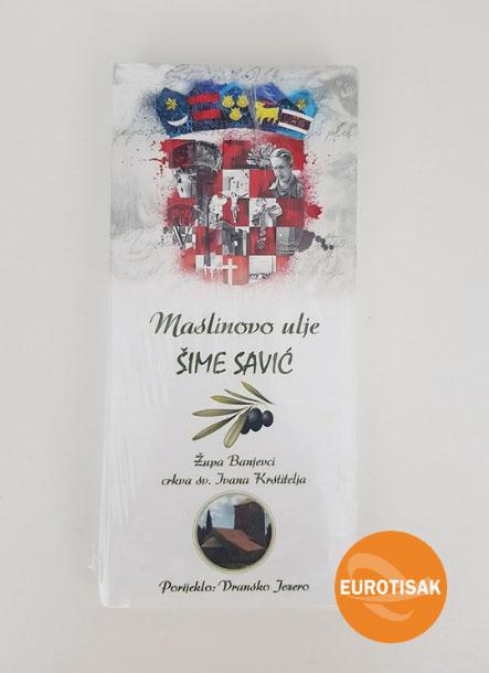 etiketa - maslinovo ulje