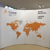 Crowe - pop up wall