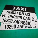 Magnetna oznaka taxi