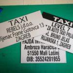 Magnetne oznake za taxi