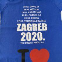 Majice sitotisak - Covid19 zagreb