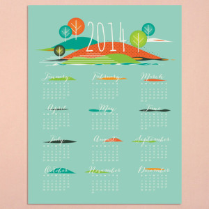 tiskani kalendari