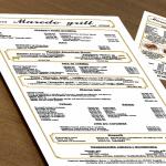 Izrada cjenika ili jelovnika za restoran