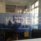 oslikavanje ureda - print na prozirnu foliju