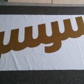 print na mesh zastave