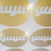 print zlatne naljepnice