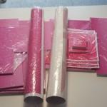 Oslikavanje izloga naljepnicama, slovima na punoj foliji, kaširane forex ploče + plakati