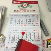 tisak kalendara