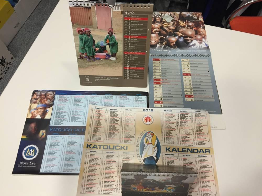 Katolički kalendari
