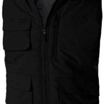 prsluk sa džepovima crni ima flis ispod