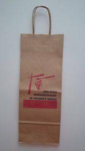 Vrećice za boce od natrona sa dotiskom