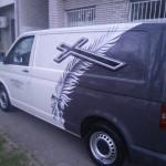Oslikavanje vozila – kombija