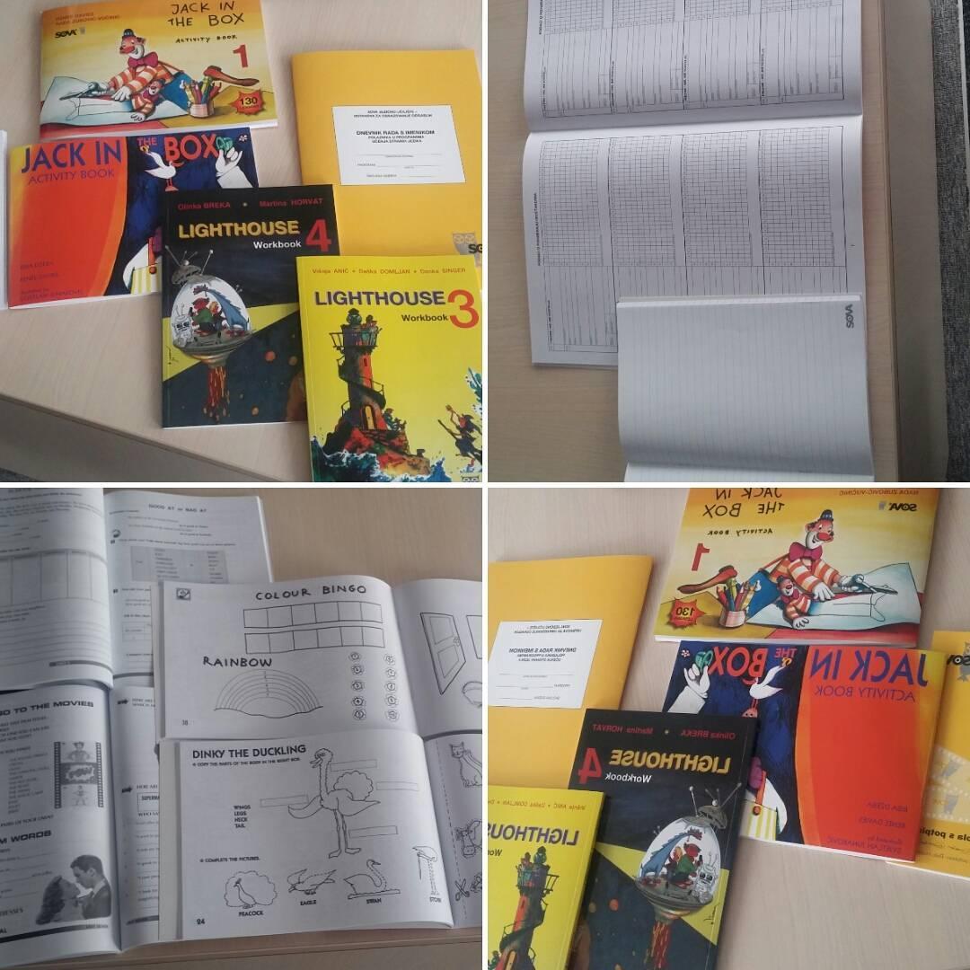 Tisak radnih bilježnica i imenika