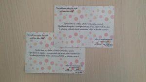Print pozivnica za vjenčanje
