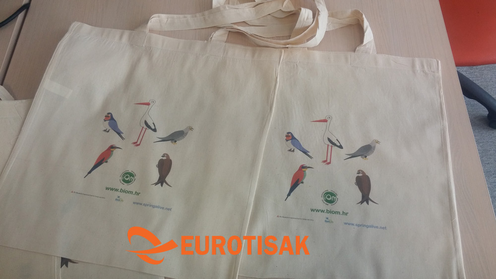 Tisak na platnene torbe