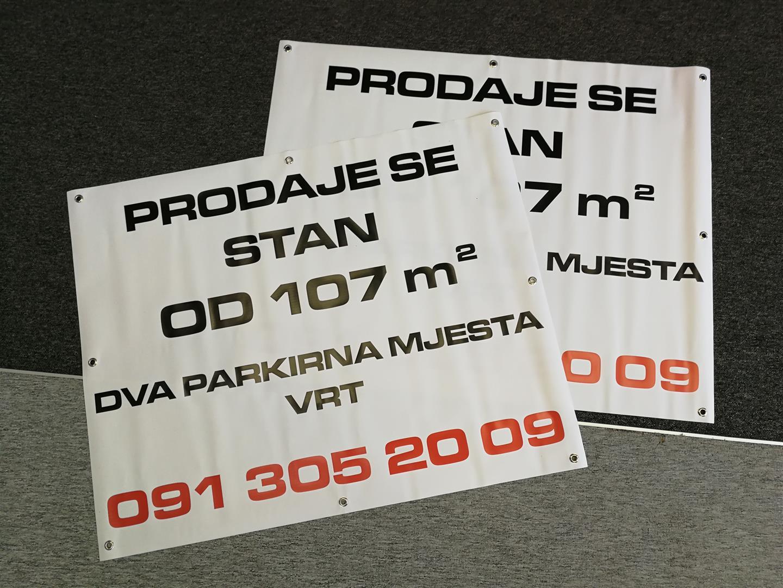 Print na baner