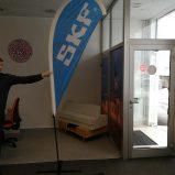 beach flag SKF eurotisak