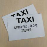magnetna folija taxi eurotisak