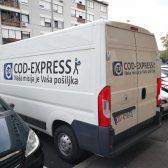 Oslikavanje vozila COD Express