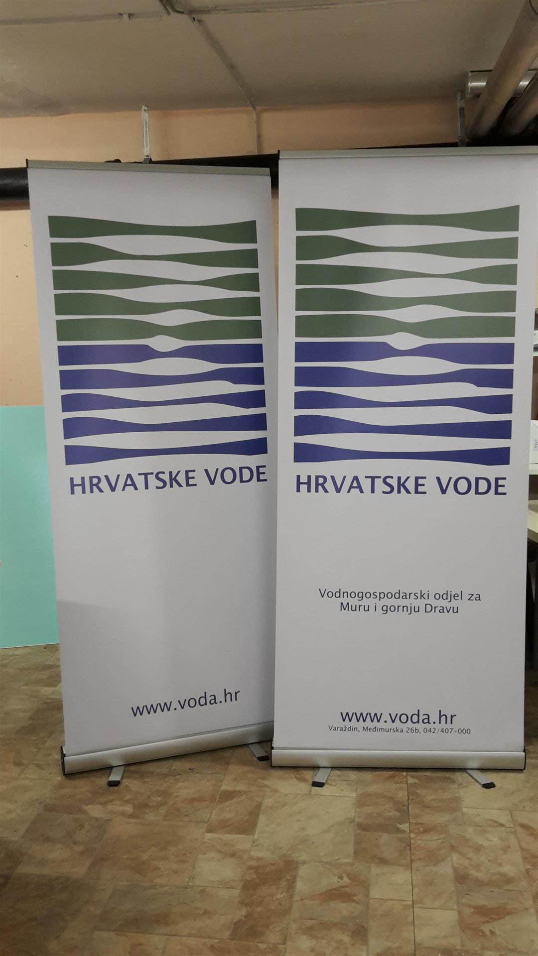Roll up - Hrvatske vode