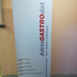 Roll up stalak adria gastro