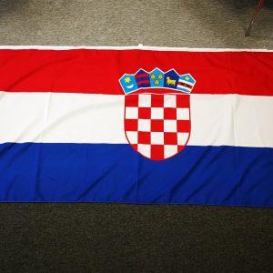 Hrvatska zastava eurotisak