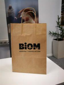 papirnate vrečice Biom