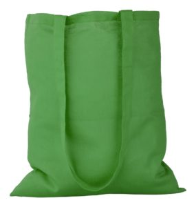 zelena platnena vrečica