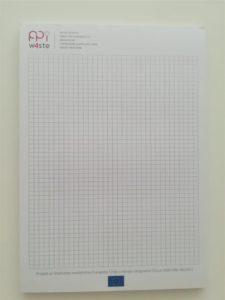 Blok za pisanje - kockice PPI - lijepljeni