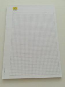 Blok za pisanje - matematički