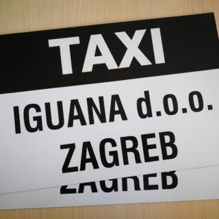 Taxi magnet