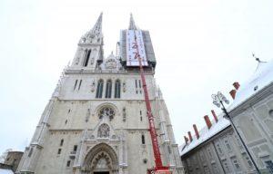 banner katedrala zagreb