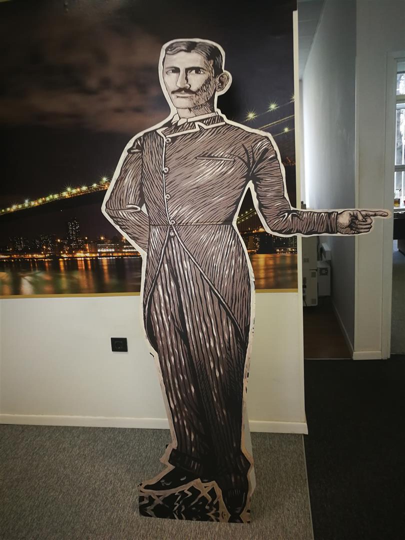 Nikola Tesla uv tisak