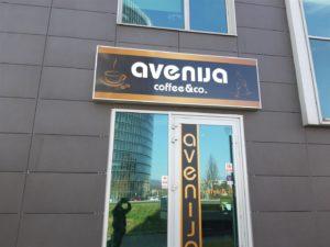 Svjetleća reklama - Avenija