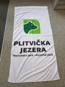 Zastava sa džepom - Plitvička jezera