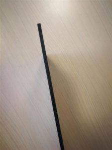 Crni forex - uzorak materijala