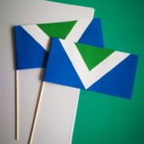 Zastavice na-čačkalici