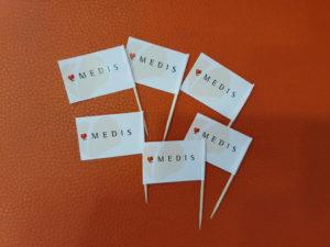Zastavice na čačkalici - Medis