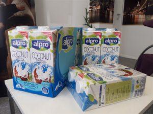 vakumiranje pvc pakiranje - Alpro