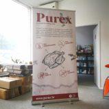 Roll up - Purex 100cm