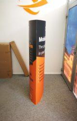 Kartonski promo stalak dvostrani - Sixt